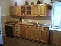kuchně - chalupa ubytování Velký Valtinov