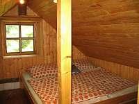 ložnice 2 - chalupa k pronajmutí Velký Valtinov