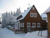 zima 2013-1 - chata ubytování Jiřetín pod Jedlovou