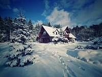 Chalupa k pronajmutí - zimní dovolená Sloup v Čechách