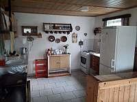 Kuchyne (2) - chalupa ubytování Zdislava
