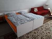 Ložnice - 4 osoby - chalupa k pronajmutí Zdislava