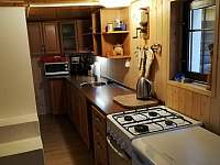 kuchyň - chata k pronajmutí Kytlice