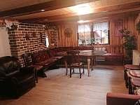 obývací pokoj - chata ubytování Kytlice