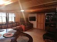 obývací pokoj - chata k pronájmu Kytlice