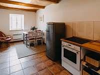 kuchyně - chalupa ubytování Polevsko