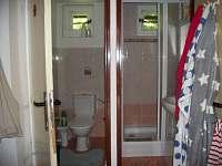 koupelna - chata k pronajmutí Jiřetín pod Jedlovou