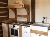 kuchyň - apartmán k pronájmu Ralsko