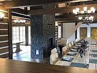 Společenská místnost - apartmán ubytování Ralsko