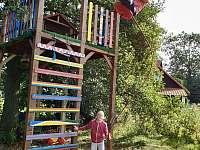 domeček v koruně stromu - rekreační dům k pronájmu Jítrava