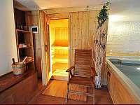 finská sauna pro 4 osoby - rekreační dům k pronajmutí Jítrava