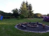 zahrada - pronájem rekreačního domu Jítrava