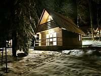 Chaty a chalupy Tomiškův rybník v chatkách na horách - Jiřetín pod Jedlovou