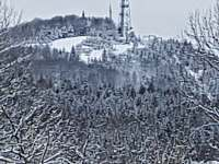 Jedlová Hora od chaty