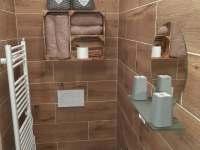 Koupelna - apartmán k pronajmutí Varnsdorf