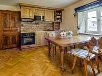 Apartmán2-kuchyňka - Rozstání v Podještědí