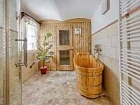 Sauna - chalupa ubytování Rozstání v Podještědí