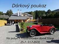 Dárkový poukaz - Sloup v Čechách
