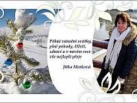 Přání k Vánocům - Sloup v Čechách