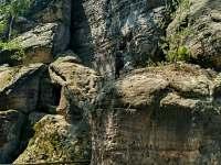 Samuelova jeskyně - Sloup v Čechách