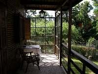 krytá veranda - Pyšely