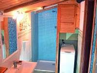Chalupa u Potoka, Koupelna - ubytování Struhařov