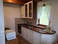 kuchyně - pronájem chaty Mačovice
