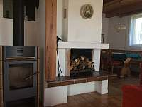 Zdroj tepla - chata ubytování Mačovice