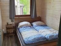 ložnice 2 - chata k pronájmu Slapy