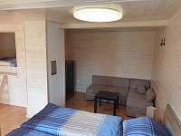 ložnice 4 - chata k pronájmu Slapy