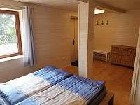 ložnice 4 - chata k pronajmutí Slapy