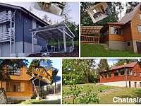 moje chaty www.chataslapy.cz - ubytování Slapy