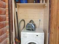 pračka - chata k pronájmu Slapy