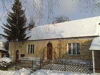 Chalupa Melody v zimě - Velká Černoc