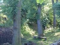 Pohled na zákoutí poblíž chalupy - k pronájmu Velká Černoc