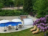 Bazén - chata k pronajmutí Skuheř