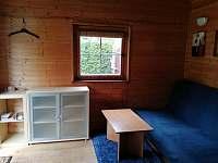obývací pokoj rozkládací lůžko - chata ubytování Praha 10 - Záběhlice