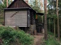 Lesní srub Malá Hraštice