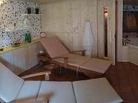 Privátní sauna s vířivkou (její použití je hrazeno zvlášť) - pronájem chalupy Ctiněves