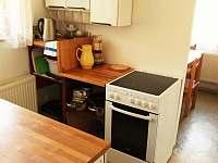 kuchyně - chata k pronajmutí Vranov - Bučina