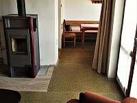obývák - chata ubytování Vranov - Bučina