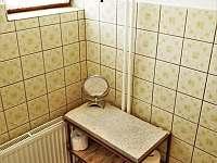 toaleta - chata k pronájmu Vranov - Bučina