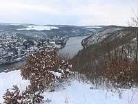 Vyhlídka na Vltavu (200 m) - Březová-Oleško