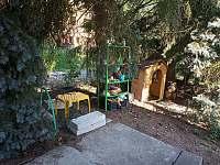 venkovní dětská kuchyňka, dobroty z jehličí - Těptín