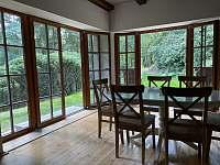 Nova francouzska okna - pronájem chaty Masečín