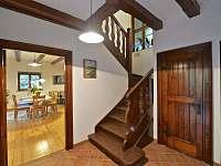 schody - chata ubytování Masečín
