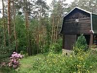 Lesní chata Malá Hraštice - ubytování Malá Hraštice