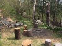 Lesní chata - chata k pronajmutí - 8 Malá Hraštice