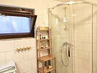 Nový sprchový kout - pronájem chaty Lhota