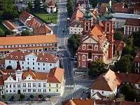 St.Boleslav, kostel Nanebevzetí Panny Marie, uloženo je zde Palladium země české - Lhota